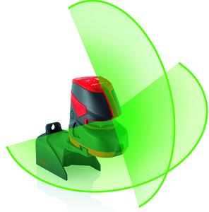 Niveau laser croix rayon vert leica lino L2G+